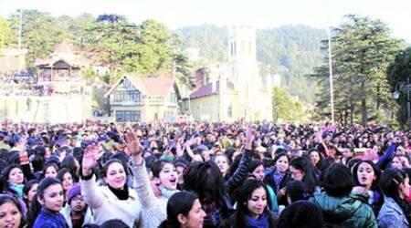 To ring in the New Year, tourists throng Shimla