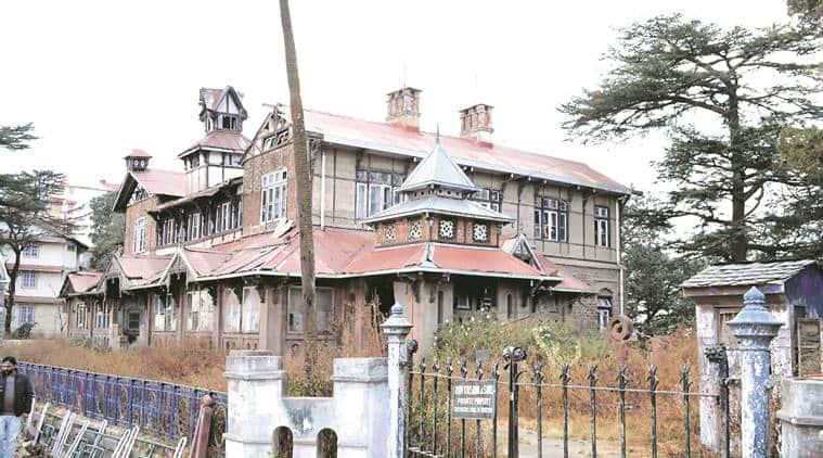 Bantony Castle, himachal pradesh cabinet, shimla heritage building, himachal pradesh news, india news, indian express