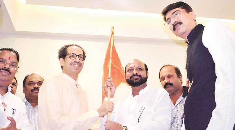 BMC polls, Mumbai civic polls, Shiv Sena, Shiv Sena BMC polls, Congress leaders join Shiv Sena, Mumbai news, india news, latest news, indian express