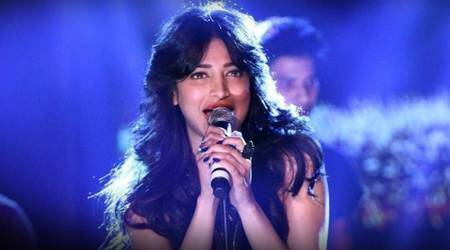 shruti haasan, happy birthday shruti haasan, shruti haasan songs, shruti haasan films, mtv unplugged, AR Rahman, shruti haasan ar rahman, anirudh ravichandran, shruti haasan singham 3, shruti haasan kamal haasan, kamal haasan films, kamal haasan daughters, kamal haasan films, sabaash naidu, rajkummar rao, behen hogi teri, shruti haasan bollywood, indian express news, indian express,