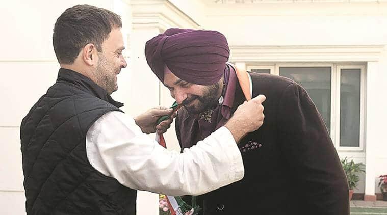 Navjot Singh Sidhu, congress, sidhu join congress, congress Navjot Singh Sidhu, rahul gandhi, amarinder singh, punjab polls, punjab elections, indian express news, india news