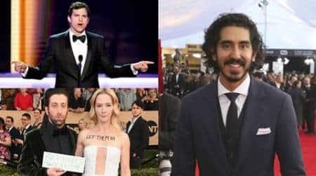 After Meryl Streep, Dev Patel, Ashton Kutcher, Simon Helberg slam Donald Trump's immigration ban at SAGAwards