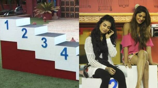 bigg boss 10, bigg boss 10 highlights, ticket to finale, ranking task, lopamudra top, bani second