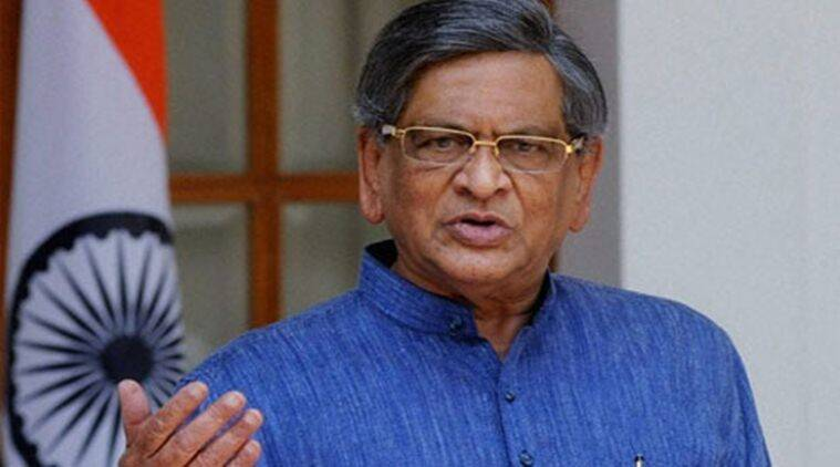 Karnataka, BJP SM Krishna, SM Krishna Karnataka, B S Yeddyurappa, Yeddyurappa, Karnataka BJP, BJP Yeddyurappa, SM Krishna BJP, karnatak news, congress SM krishna quits congress, india news