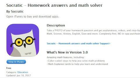 Get homework answers