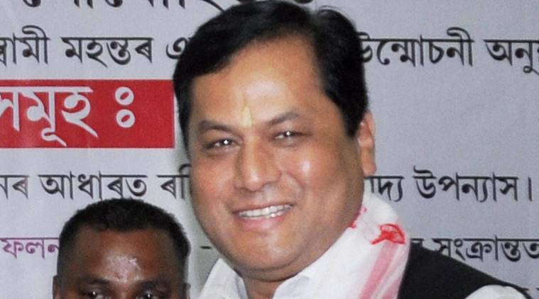 Sarbananda SOnowal, Sonowal Assam flood, Sonowal Brahmaputra board, Assam News, Sonowal news, Indian express