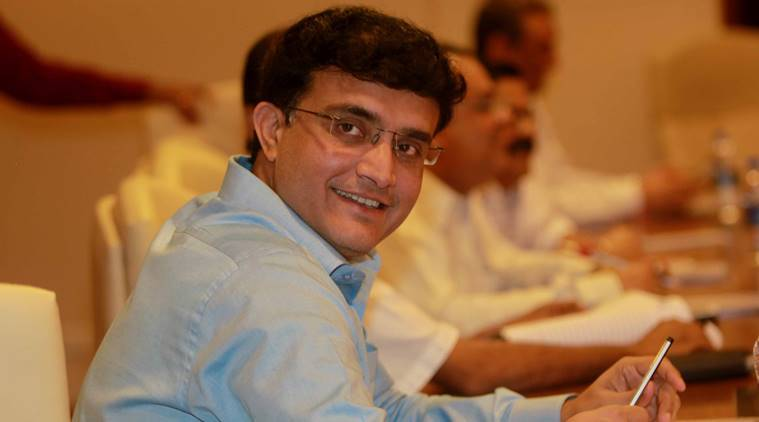 Sourav Ganguly at the BCCI office for the ILP Governing council meeting in Mumbai on Sunday. Expess photo by Kevin DSouza, Mumbai 19-07-2015.