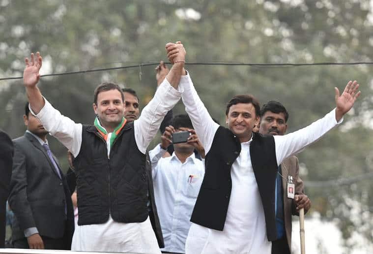 sp congress alliance, samajwadi congress alliance, rahul akhilesh, rahul gandhi, akhilesh yadav, rahul akhilesh rally, samajwadi congress up polls, up elections, up alliance, samajwadi party up elections, india news
