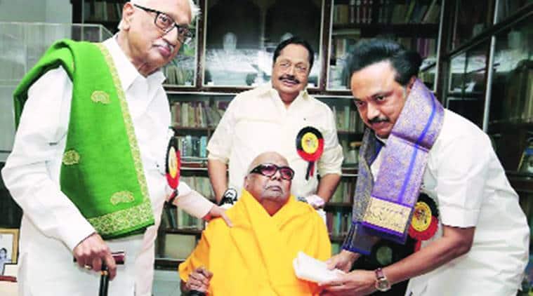 M K Stalin, DMK chief M K Stalin, New DMK chief M K Stalin, Tamil Nadu politics, Tamil Nadu news, Latest news, India news, National news, India news, Tamil Nadu politics news, Latest news