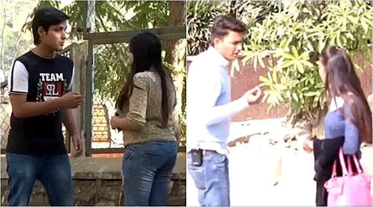 the crazy sumit kissing prank, the crazy sumit video, the crazy sumit prank video, crazy sumit prank blocked video, crazy sumit reply video, crazy sumit similar videos