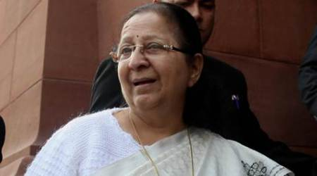 sumitra mahajan, women's reservation in politics, women's reservation, reservation for women in parliament, politics reservation for women, lok sabha speaker, lok sabha speaker sumitra mahajan, indian express, india news