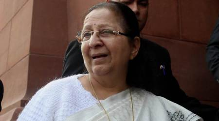 Politics not a regular job with fixed retirement age: Sumitra Mahajan