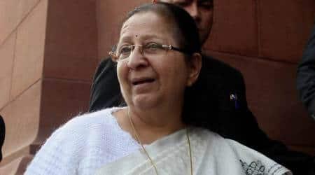 Lok Sabha Speaker  Sumitra Mahajan releases postal ticket in honour of KrantiveerChapekar