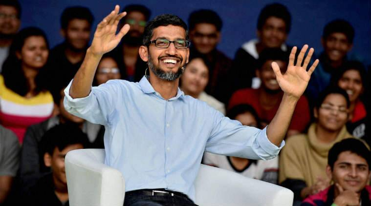 sundar pichai, sundar pichai salary, sundar pichai alphabet inc compensation, how much does sundar pichai earn, sundar pichai annual salary