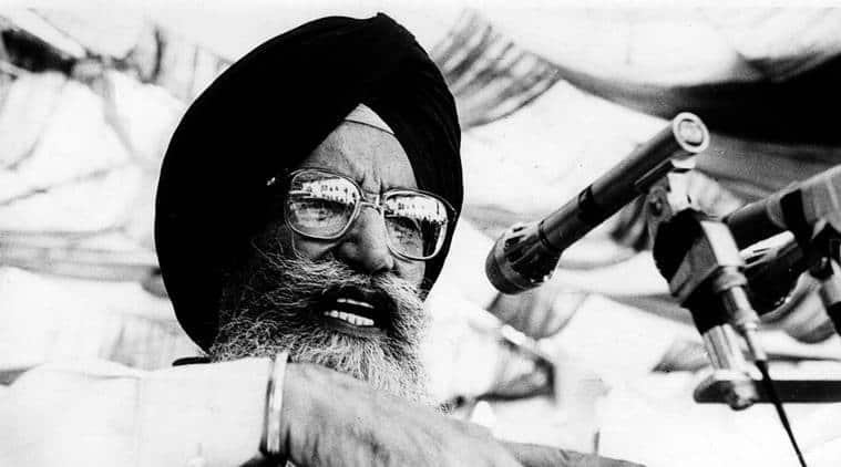 Surjit Singh Barnala, Punjab CMSurjit Singh Barnala, former punjab cmSurjit Singh Barnala, Punjab news,Surjit Singh Barnala dies,Surjit Singh Barnala passes away, former punjab cm dies aged 91, India news, Indian Express
