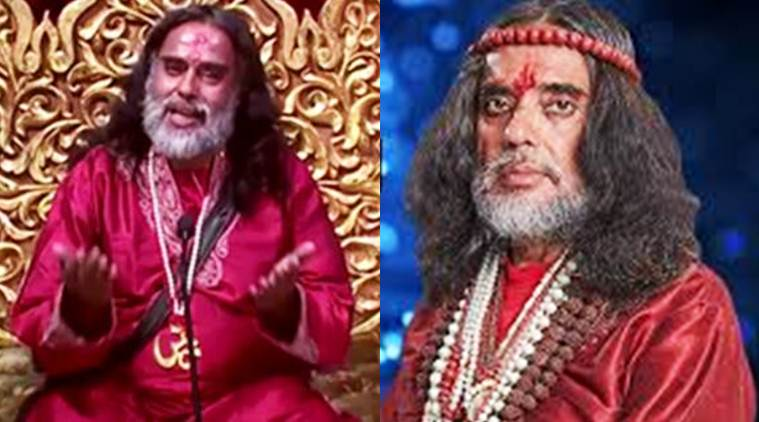 swami om arrested, swami om bigg boss 10, swami om arrested, swami om detained, swami om lonavla police, swami om police, swami om salman khan, bigg boss 10 finale, swami om finale, bigg boss 10 finale swami om, swami om, swami om nasty interview, swami om comments salman khan, bigg boss 10, bigg boss 10 updates, television news, television updates, entertainment news, indian express, indian express news
