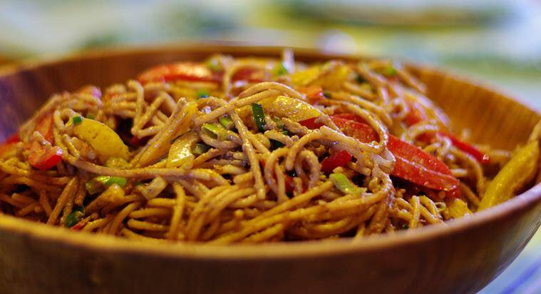 Enjoy Szechuan Noodles at