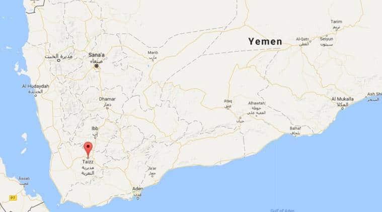 Yemen 6 civilians killed in rebel strike in Taiz The Indian Express