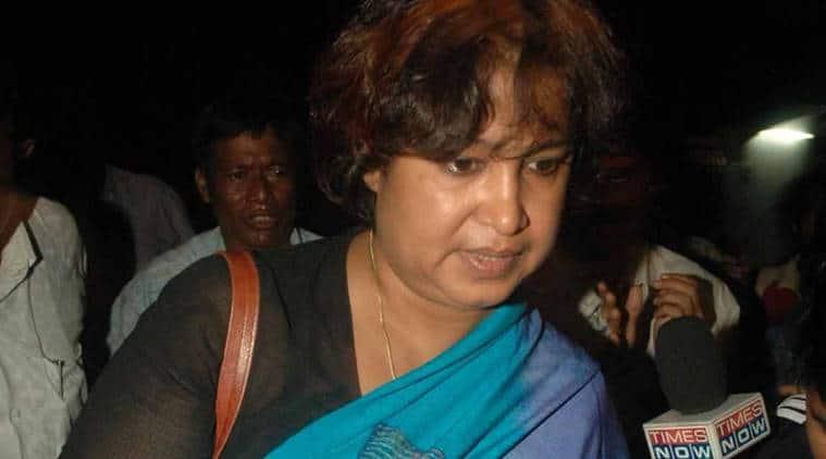 Taslima Nasreen, taslima sent back, taslima in auragabad, Bangladeshi author Taslima Nasreen, Aurangabad airport, aurangabad news, taslima nasreen news