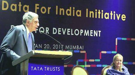 ratan tata, patricia mccarney, world council on city data, tata trusts, tata trusts world council on city data, mumbai, mumbai news, indian express, india news
