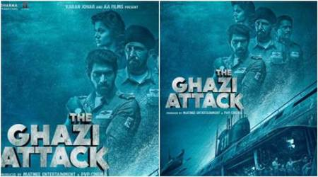 The Ghazi Attack, The Ghazi Attack trailer, The Ghazi Attack film, The Ghazi Attack cast, Karan Johar, Karan Johar production, The Ghazi Attack karan johar, Rana Daggubati, Taapsee Pannu, Kay Kay Menon, Atul Kulkarni, Taapsee Pannu film, The Ghazi Attack news, The Ghazi Attack story