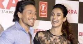 Tiger Shroff Ignores Question On Disha Patani's Topless Photo