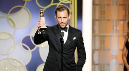 Tom Hiddleston issues apology after Golden Globes speechbacklash