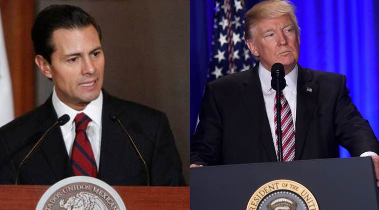 mexico, mexican government, pena nieto government, donald trump, immigration ban, US immigration ban, US-Mexico, mexico president, mexican president, Enrique Pena Nieto, Enrique Pena Nieto's government, world news, indian express news