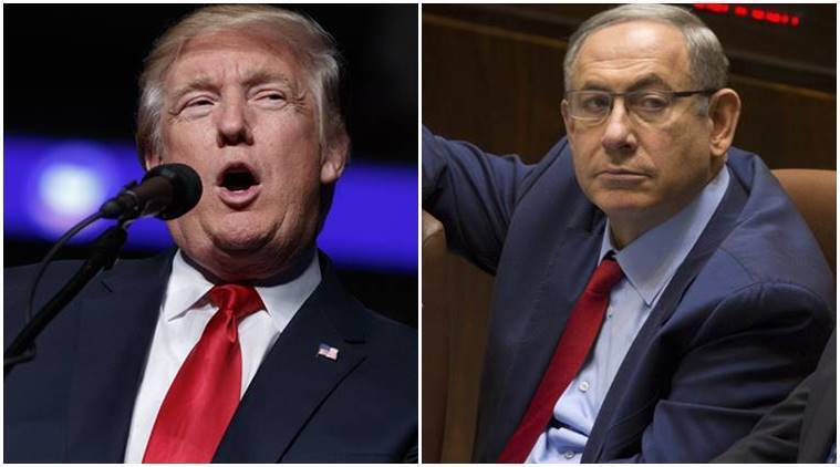 Benjamin Netanyahu, Netanyahu, Israel Prime Minister, Donald Trump, Trump, US President, Trump Israeli PM invitation, Trump Netanyahu, Trump Israel, world news, latest news, indian express