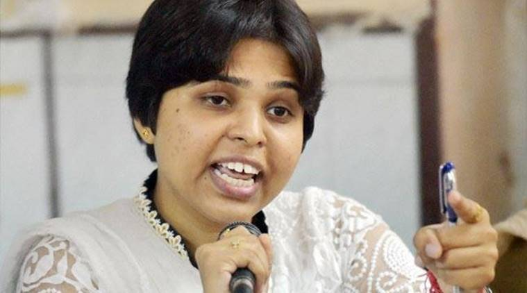 Trupti desai, Rights activist Trupti Desai,Prevention of Atrocities Act, Vijay Makasare, Bhumata Ranragini Brigade, india news
