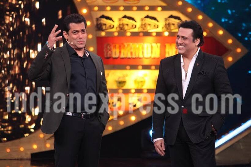 bigg boss, salman govinda, salman govinda back together, salman govinda comic timing, salman govinda entertain, govinda salman friendship, salman govinda fight