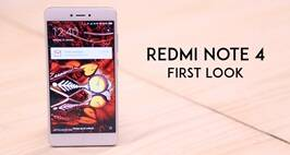 Redmi note 4 First Look Video
