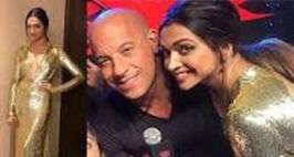 xXx Premiere: Deepika, Performs 'Lungi Dance' With Hollywood Star Vin Diesel, Ranveer, Shahid Shower Wishes