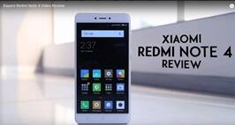 Redmi Note 4 Video Review