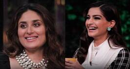 Kareena, Sonam grace KJo's couch with hilarious chunks of gossip
