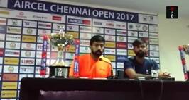 Rohan Bopanna – Jeevan Nedunchezhiyan After Chennai Open Doubles Win