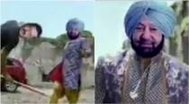 WATCH: Hilarious spoof video shows Captain Amarinder Singh as Bollywood hero fighting Kejriwal and Badal