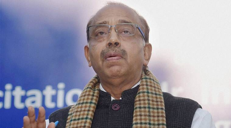 Vijay Goel. Union Minister of State for Youth Affairs & Sports, Vijay Goel youth day blooper, Vijay Goel blooper, national youth day, india news, latest news, indian express