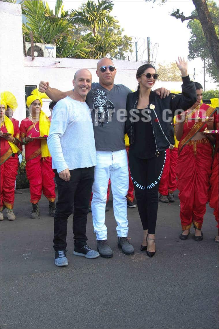 Vin Diesel, Deepika Padukone, Vin Diesel india, Vin Diesel india visit, Deepika Padukone vin diesel