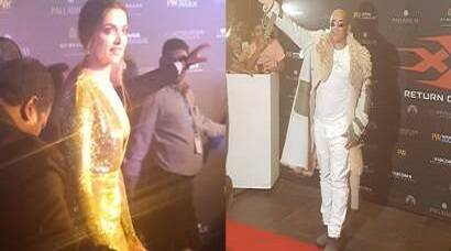 Vin Diesel, Deepika Padukone and other celebrities who slayed the red carpet event of xXx: Return of Xander Cage