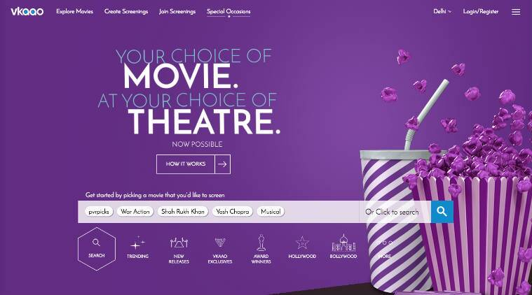 PVR Cinemas launches its 'theatre on demand' service VKAAO