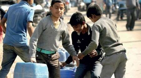 Water supply hit in vast areas of Delhi as ammonia levelsrise