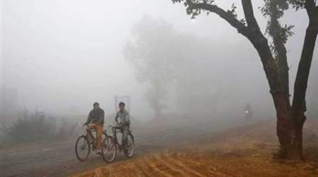 weather, temperature, punjab haryana temperature, cold, winters, north india winters, india news, indian express news