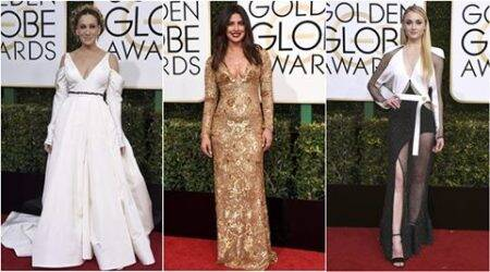 From Priyanka Chopra to Sophie Turner: The worst dressed celebrities at the Golden Globes 2017