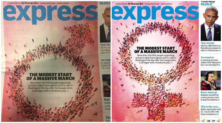 Netizens Slam Washington Post Express For Sexist Cover The