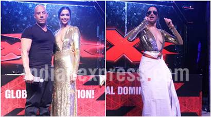 Deepika Padukone teaching her xXx co-star Vin Diesel lungi dance is so much fun