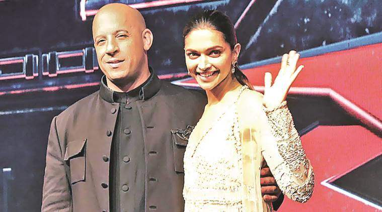 'xXx: Return of Xander Cage, Vin Diesel, director DJ Caruso, Deepika. '