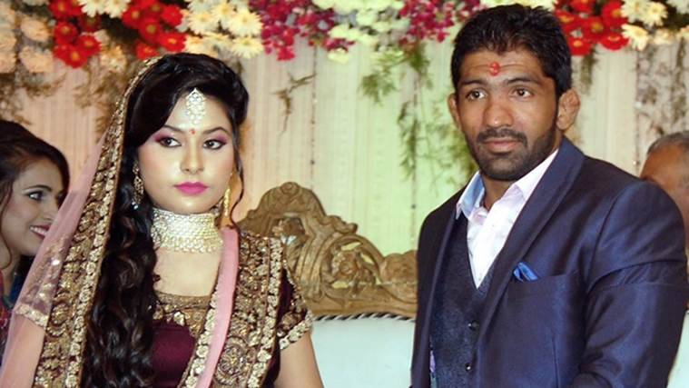 Yogeshwar Dutt, two time olympian, will tie the knot on January 16. (Source: PTI)