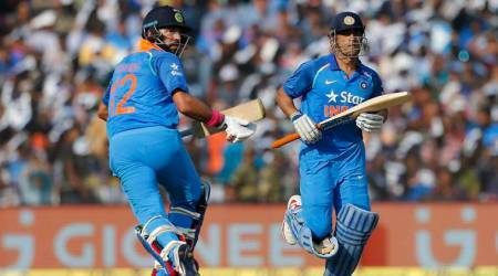 yuvraj singh, suresh raina, mahendra singh dhoni, ms dhoni, virender sehwag, indian cricket team, india vs sri lanka, india vs australia, cricket news, sports news, indian express