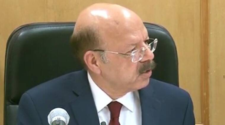 Nasim zaidi, Election Commission, EC, EVM, EVM hacking, Election commission news